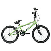 "Terrain Venom 20"" Kids' BMX Bike, Green"
