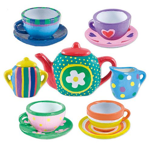 Paint Tea Set Crafty Cases