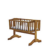 Saplings Bethany Crib with Mattress, Natural