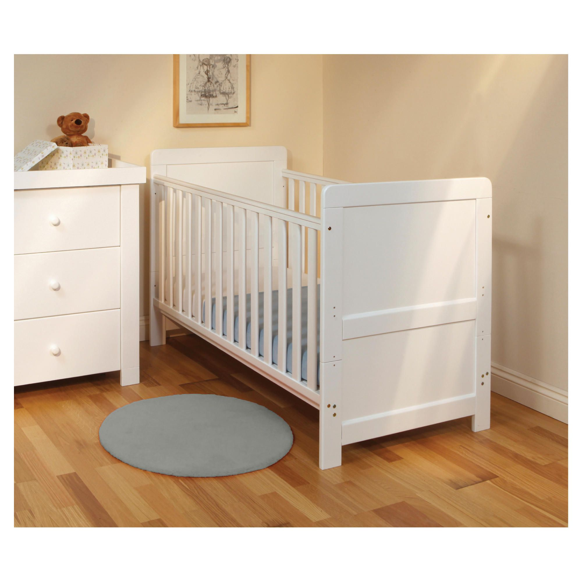 East Coast Atlanta 3 Piece Room Set, White at Tesco Direct