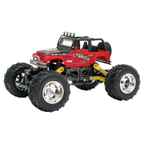 New Bright Rock Crawler 1:18 RC Toy Car