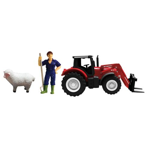 Massey Ferguson Tractor (With Single Tractor)- Assortment – Colours & Styles May Vary