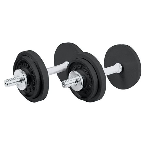 Gold's Gym Hammertone 20Kg Dumbbell Set