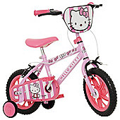 "Hello Kitty 12"" Kids' Bike with Stabilisers"