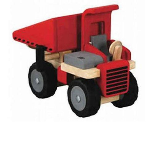 Plan Toys Dump Truck Wooden Toy