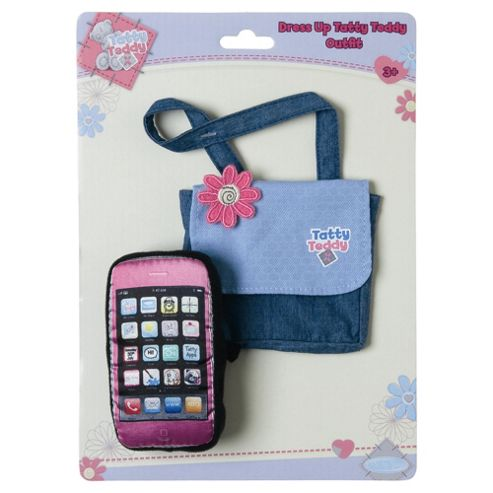 Tatty Teddy & My Blue Nose Friends Tatty Dress Up Bag & Mobile Phone