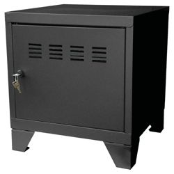 Pierre Henry A4 Small Locker Filing Cabinet, Black
