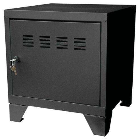 Pierre Henry A4 Small Locker Filing Cabinet, Black