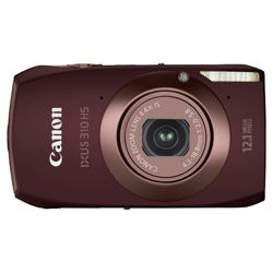 Canon IXUS 310 HS Digital Camera Brown