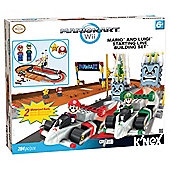 Knex Mario Kart Wii Mario and Luigi At The Starting Line Set