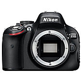 "Nikon D5100 Digital SLR Camera, Black, 16.2MP,  3"" LCD Screen, Body Only"