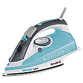 Breville VIN222 Self Clean Feature Iron with Stainless Steel Plate - Blue