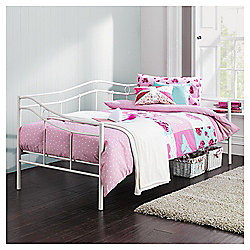 Paige Day Bed, White