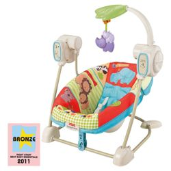 Fisher-Price Love U Zoo Swing
