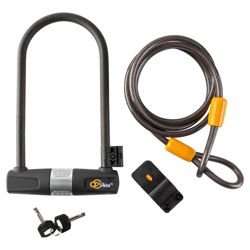 Via Velo D Lock with Cable