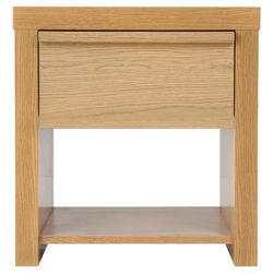 Portland Bedside Chest, Oak