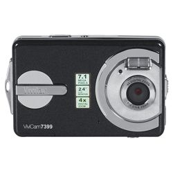 Vivitar V7399 Black Waterproof Digital Camera