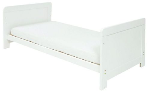 East Coast Atlanta Cot Bed, White