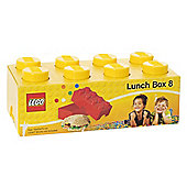 LEGO Storage Lunch Box 8, Yellow