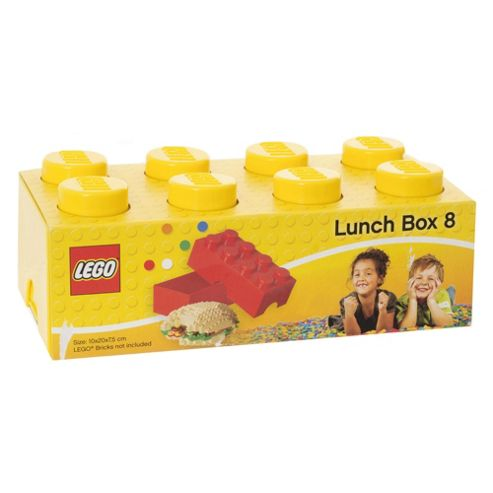 LEGO Storage Lunch Box 8 Yellow