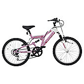 "Terrain Vesuvius 20"" Kids' Dual Suspension Mountain Bike"