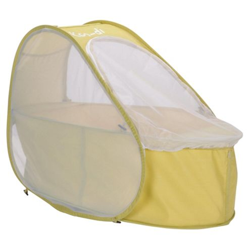 Koo-di Pop Up Travel Cot & Bassinette, Lemon & Lime