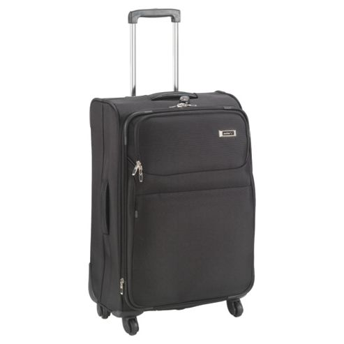 Antler Princeton 4-Wheel Suitcase, Black Medium