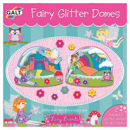 Fairy Friends Glitter Domes