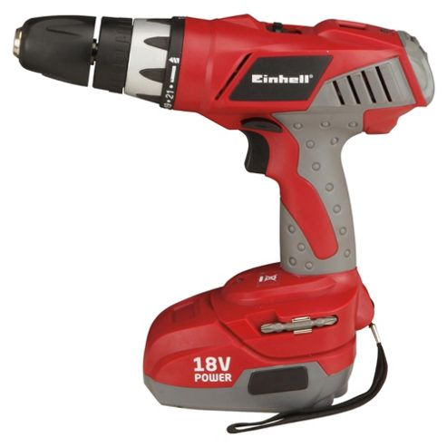 buy einhell 18v cordless impact drill red from our cordless drills range tesco. Black Bedroom Furniture Sets. Home Design Ideas