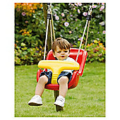Plum Baby Swing Seat With Extensions, Red