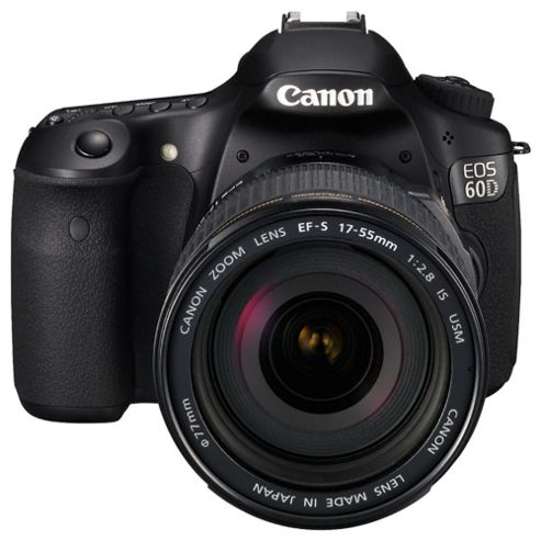 Canon EOS 60D SLR Camera EF-S 17-55mm IS USM Lens 18MP 3.0 LCD FHD