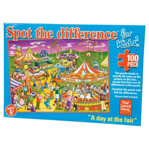 Spot The Difference Puzzles - Day At The Fair