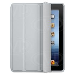 Apple Polyurethane Smart Cover for new Apple iPad & iPad 2 Light Grey