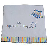F & F Fleece Blanket, Forest Friends