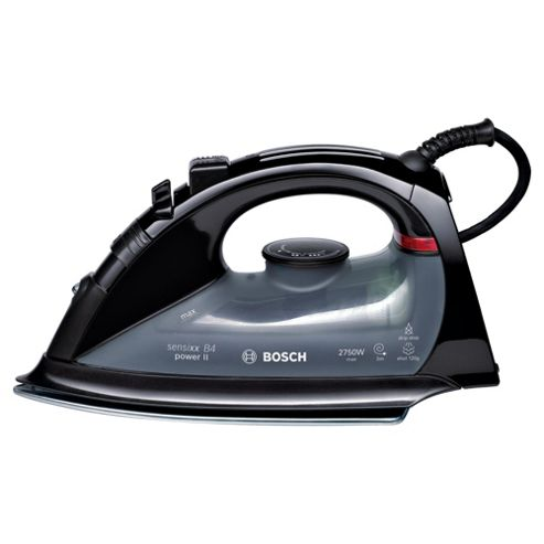 Bosch TDA5620GB Ceramic Plate Steam Iron, Black