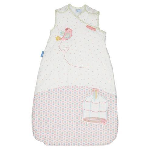 Grobag Baby Sleeping Bag, 6-18 Months, 2.5 Tog, Songbird