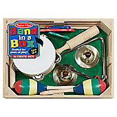 Melissa & Doug Wooden Band In A Box 10 Piece Set