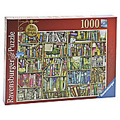 Ravensburger The Bizarre Bookshop, 1000 Piece Jigsaw Puzzle