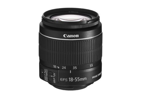 Canon EF-S 18-55mm f/3.5-5.6 IS Lens Black