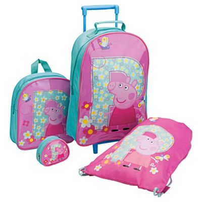 Peppa Pig 4-Piece Kids' Luggage Set