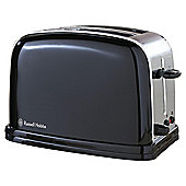 Russell Hobbs Colours 2 Slice Toaster - Black
