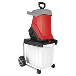 Red 2500W Electric Impact Shredder