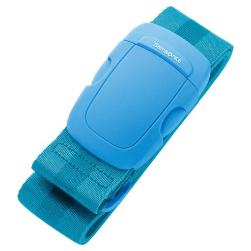 Samsonite Suitcase Luggage Strap, Blue