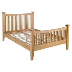 Hampstead Double Bed Frame, Oak