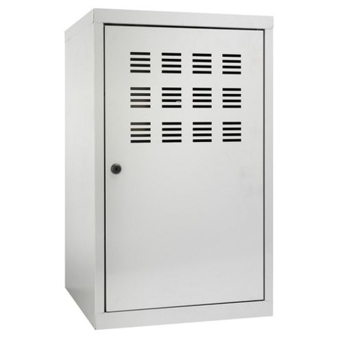 Pierre Henry A4 Large Locker Filing Cabinet, Silver