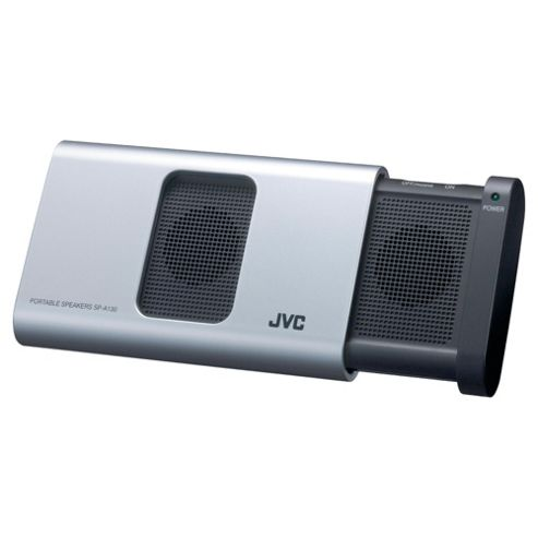 JVC SP-A130-S-E Portable Stereo Speaker - Silver
