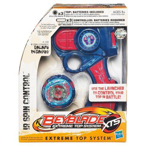 Beyblade Xts: Ir Spin Control