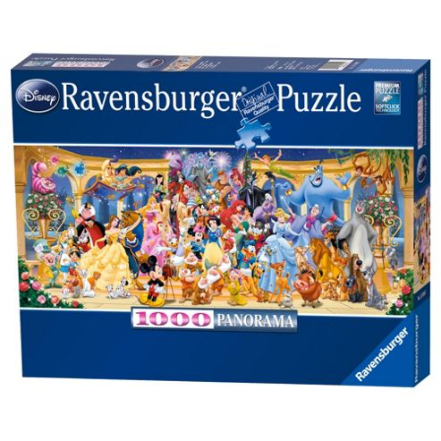 Disney Panoramic 1000pc Jigsaw Puzzle