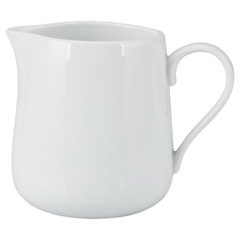 Tesco Large Porcelain Jug, White