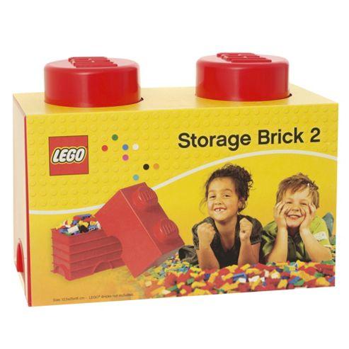 LEGO Storage Brick 2 Red